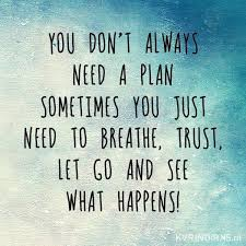 you don't need a plan